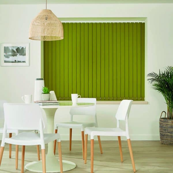 Commercial Blinds Vertical Green