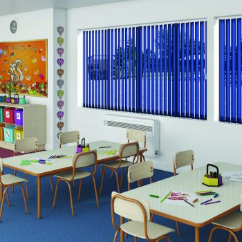 Commercial Blinds for classroom