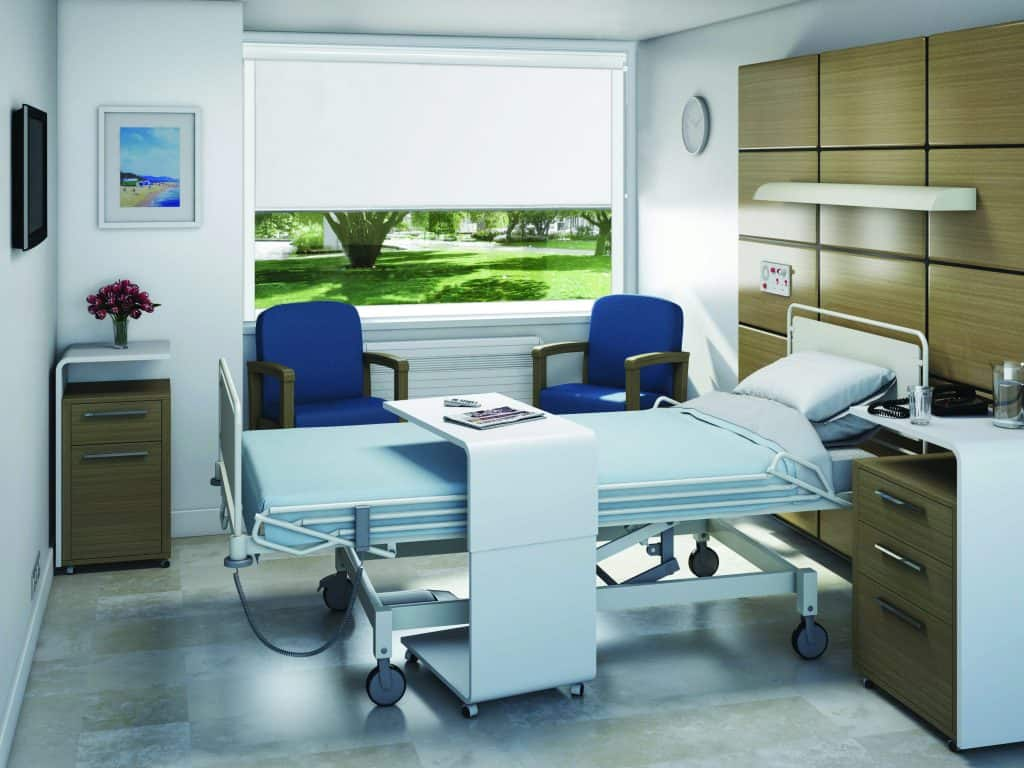 Commercial Blinds for hospital
