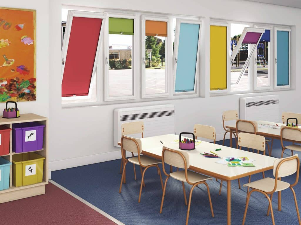 Commercial Blinds for schools