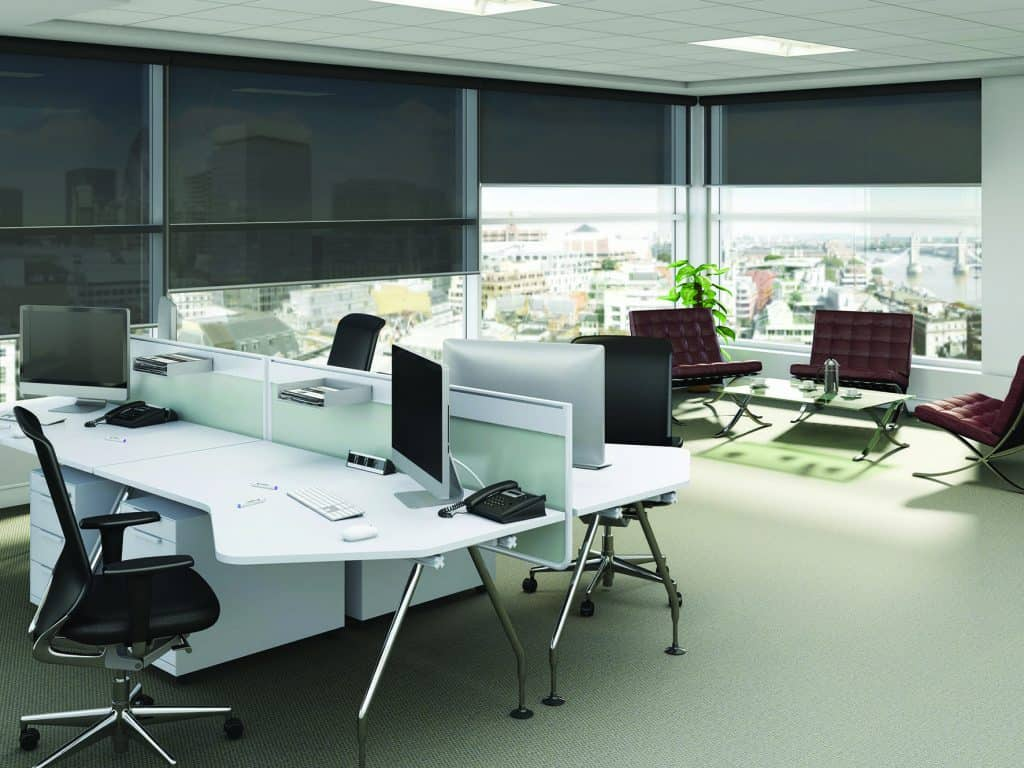 Commercial shade Blinds