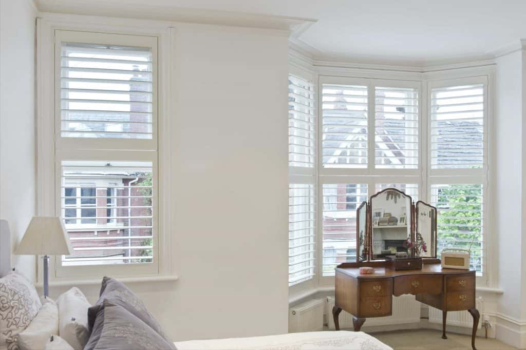 Bedroom Bay shutter blinds