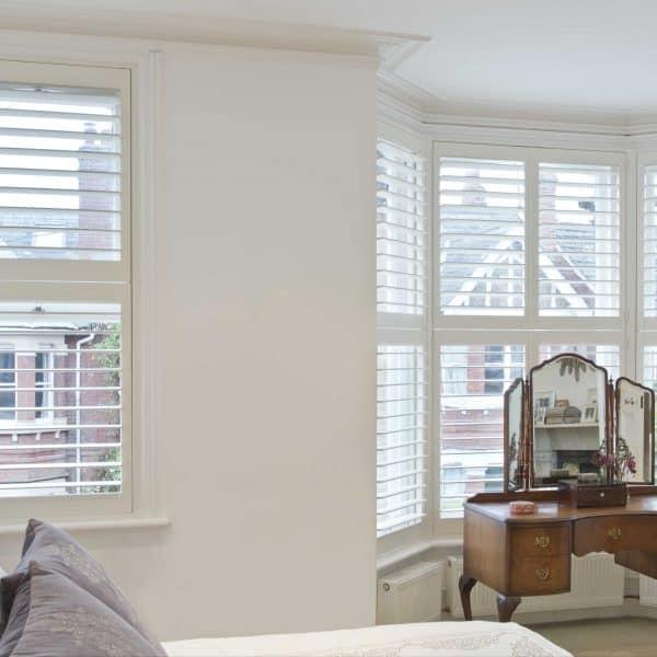 Bedroom Bay shutter blinds