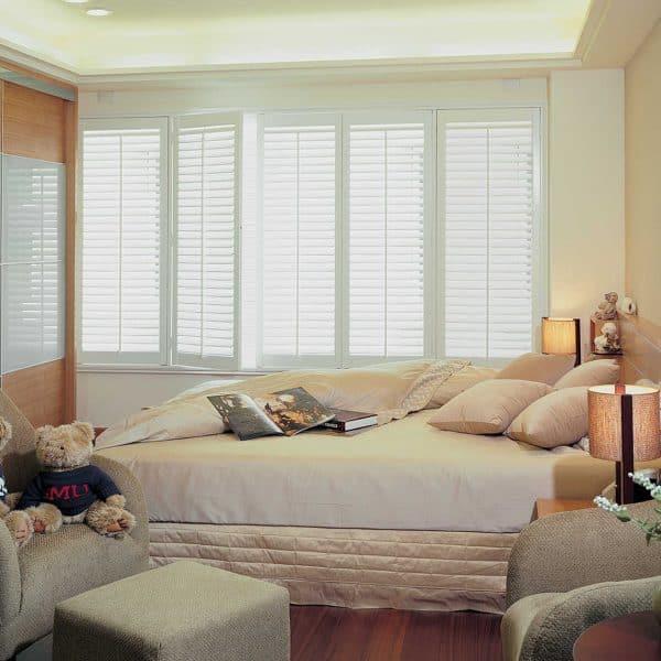 Bedroom Window shutter blinds Glasgow