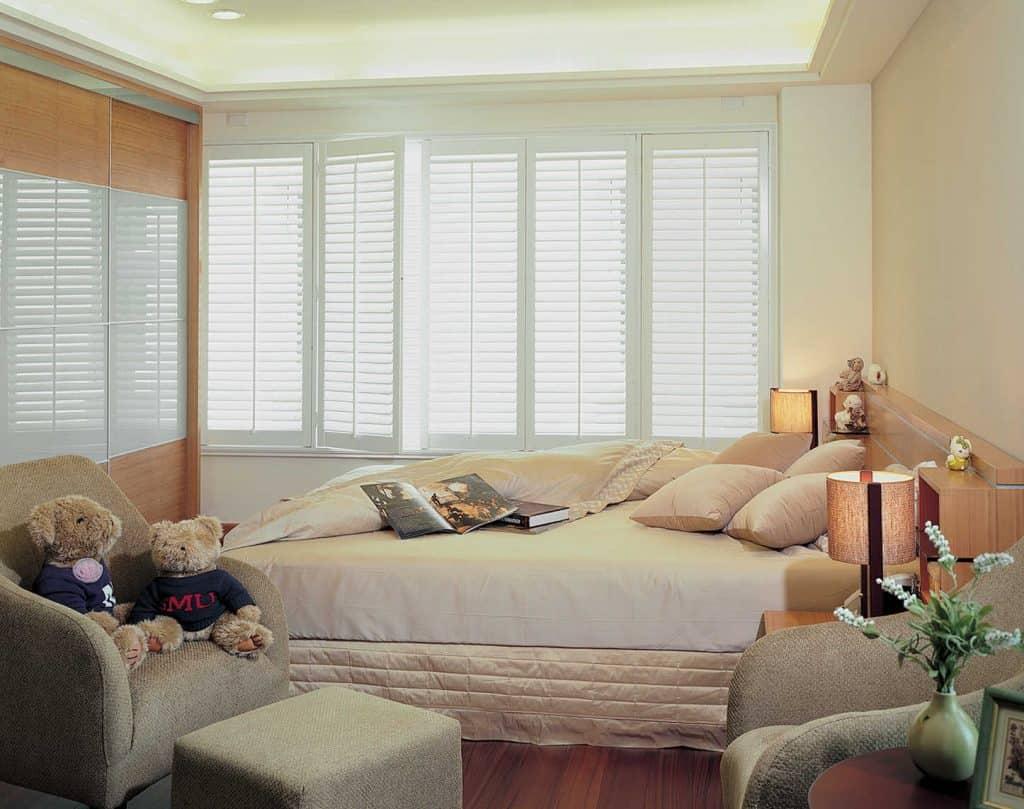 Bedroom Window shutterblinds
