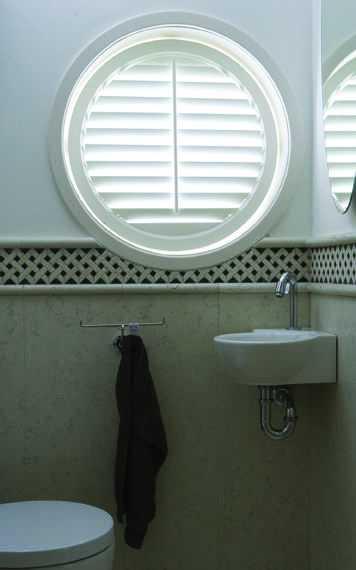 Port Hole Circular shutter blinds