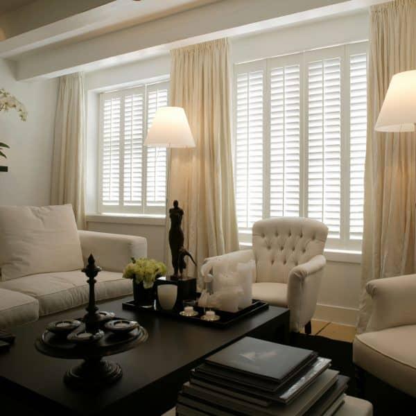 Commercial shutter blinds