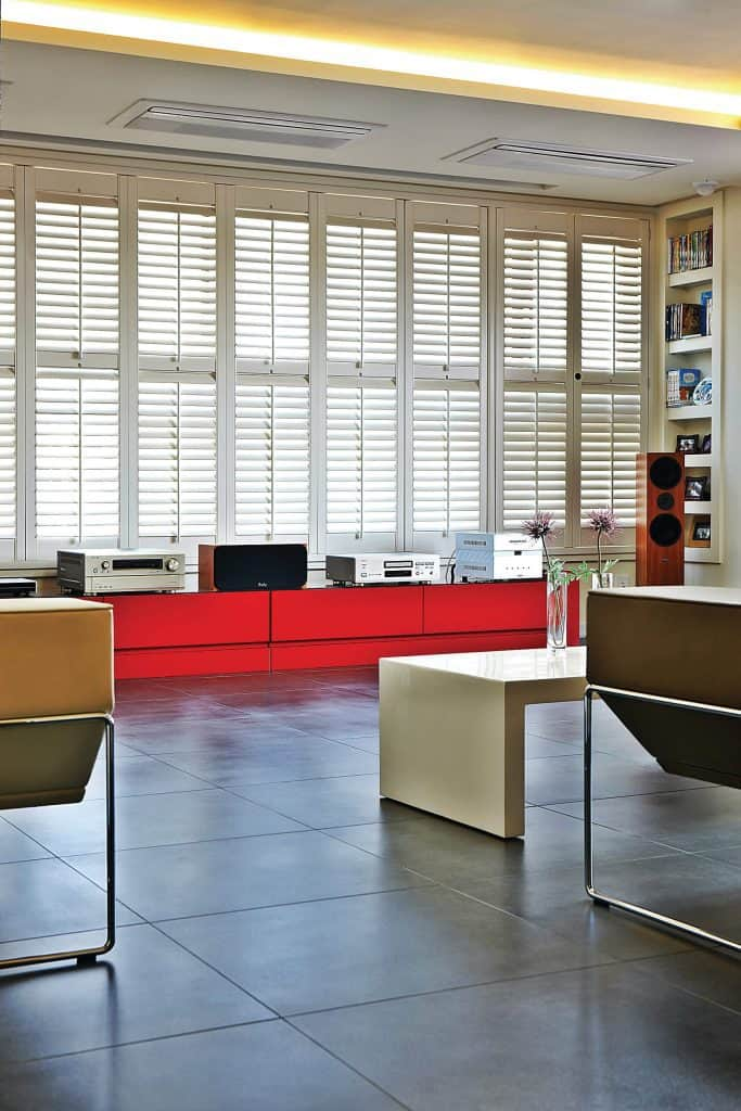 Office plantation shutter blinds Scotland