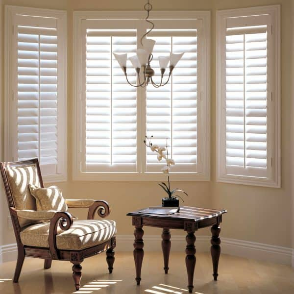 Plantation shutter blinds