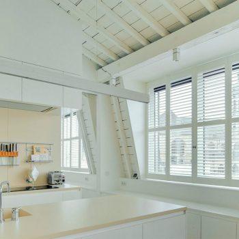 Shutter blinds for apartment