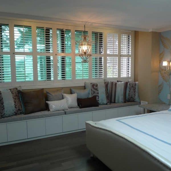 bedroom shutter blinds