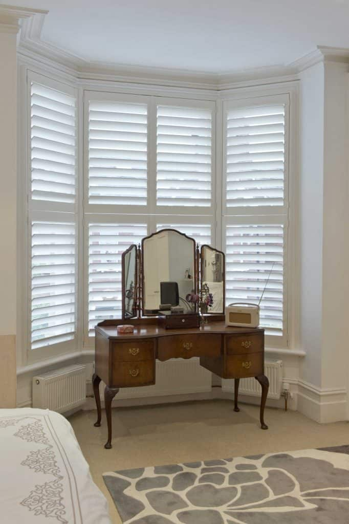 shutter blinds Bedroom Bay